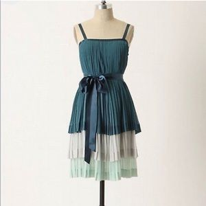 Anthropologie Girls from Savoy Tiered Dress